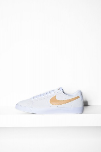 Nike SB Blazer Low GT weiss / club gold Sneaker - jetzt kaufen