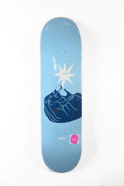 UMA Skateboard Deck Whoisnt hellblau online bestellen