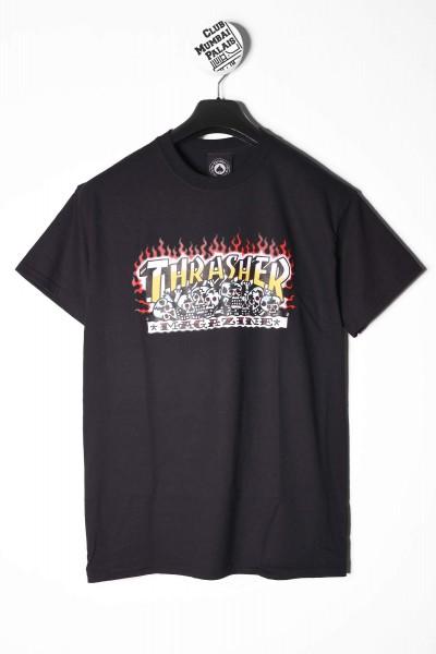 Thrasher T-Shirt Krak Skulls schwarz online bestellen