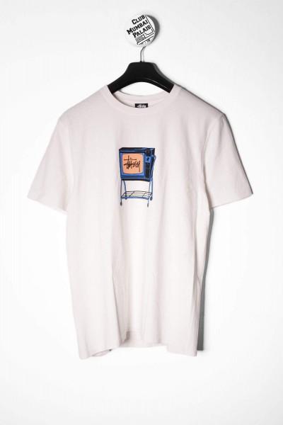 Stüssy Rolling Tv T-Shirt weiß online bestellen
