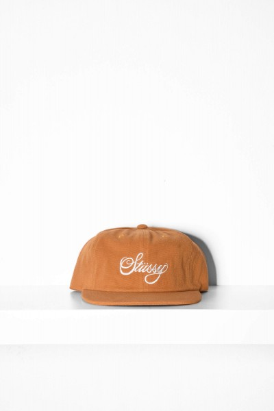 Stüssy Peached Canvas Cap gold online bestellen