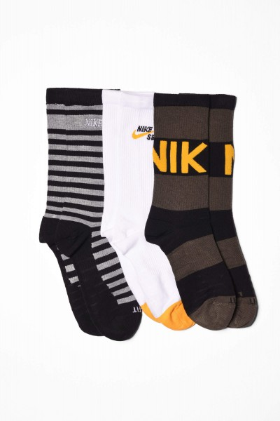 Nike SB Socks Everyday Max Lightweight schwarz / gelb online bestellen