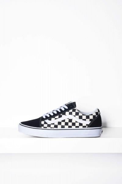 Vans Skateschuhe Old Skool Primary Check schwarz / weiss Checkerboard kaufen