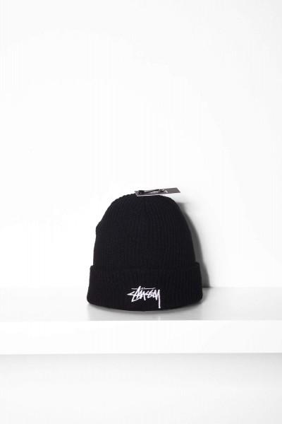 Stüssy Beanie Stock Cuff schwarz Mütze online bestellen