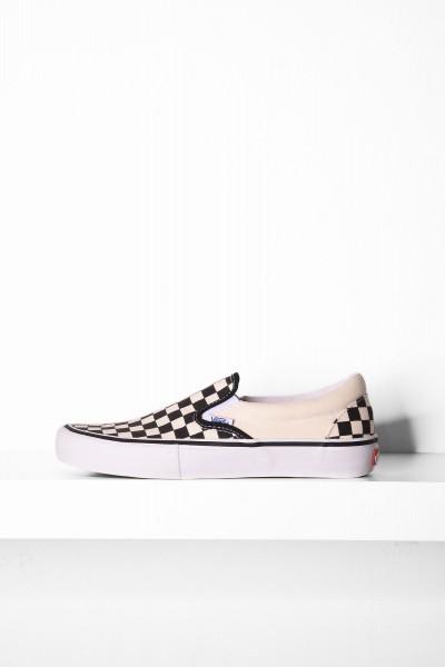 Vans Slip-On Pro Checkerboard schwarz weiß online bestellen