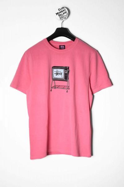 Stüssy T-Shirt Rolling Tv pink online bestellen