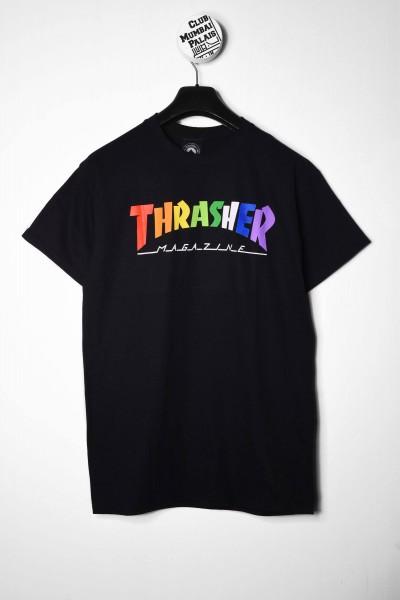 Thrasher T-Shirt Rainbow Mag black / schwarz online bestellen