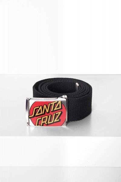 Santa Cruz Belt Crop Dot black / schwarz Gürtel Gürtelschnalle