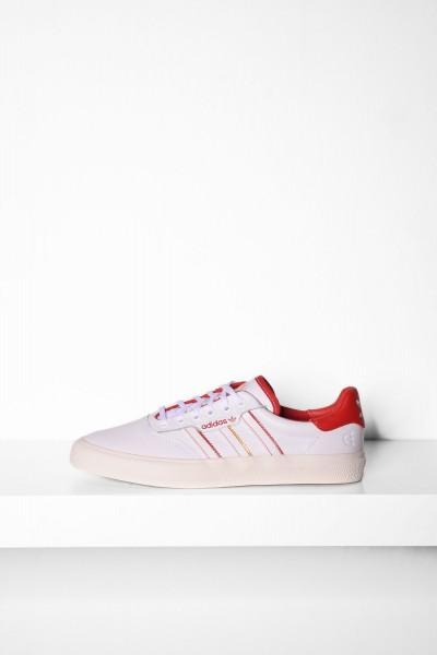 Adidas 3MC X Evisen footwear white /scarlet - weiß / rot Skateboardschuhe online bestellen