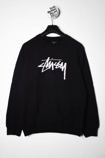 Stussy Stock Crew schwarz online bestellen