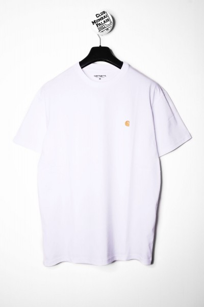 Carhartt WIP T-Shirt Chase weiss / gold online bestellen