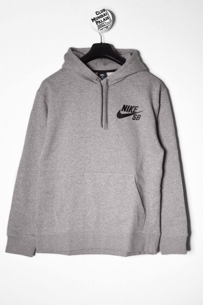 Nike SB Icon Hoodie Kaputzenpullover grau online bestellen