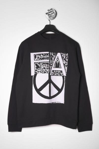 Fucking Awesome Crewneck Peace schwarz online bestellen