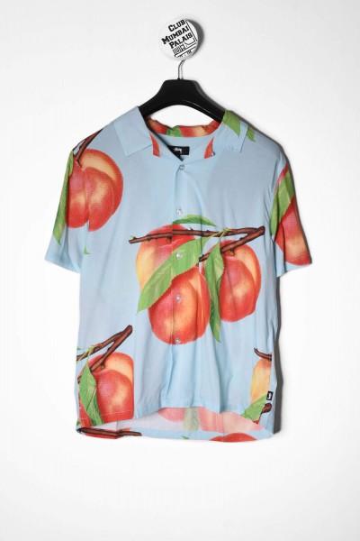 Stüssy Peach Pattern Shirt blau online bestellen