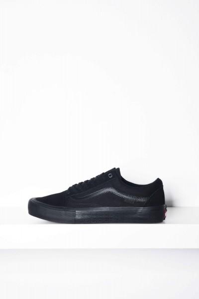Vans Sneaker Old Skool Pro Blackout schwarz Skateschuhe kaufen