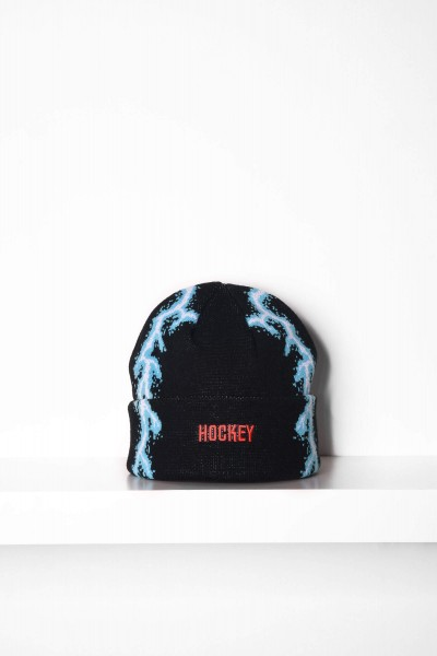 Hockey Beanie Lightning schwarz Mütze shoppen