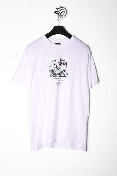 Stüssy T-Shirt Dionysos weiß online bestellen