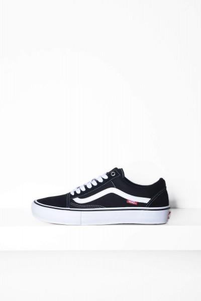 Vans Skateschuhe Old Skool Pro schwarz / weiss Sneaker kaufen