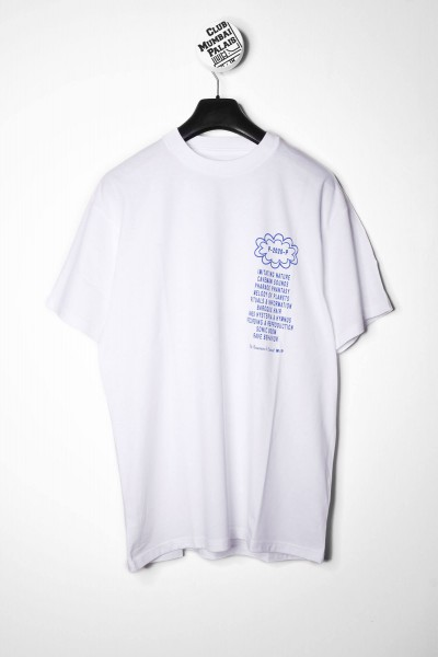 Carhartt WIP T-Shirt Public Possession mit Backprint weiß Vorderseite