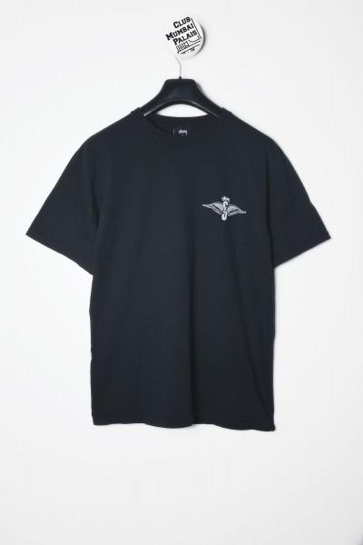 Stüssy T-Shirt Skull Wings Pig. Dyed Tee schwarz - jetzt kaufen