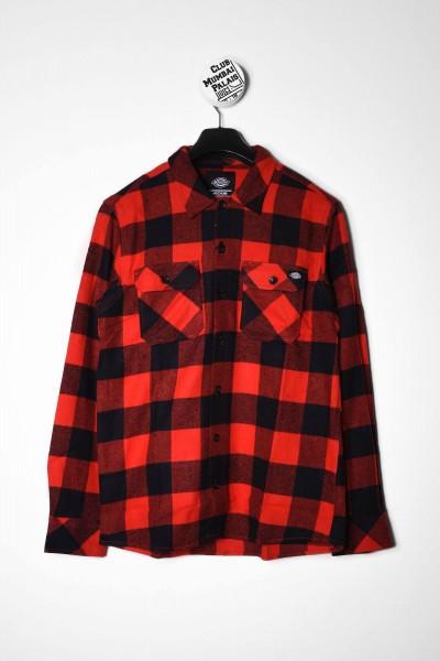 Dickies Hemd l/s Sacramento Shirt rot online bestellen