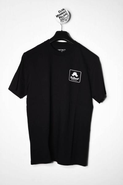 Carhartt WIP T-Shirt Peace State black / schwarz weiß online bestellen